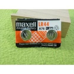 Baterie, 2 sztuki, LR44 ag13 MAXELL - NOWE cena za pasek - 2 szt.