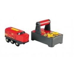 Zdalnie sterowana lokomotywa techniczna