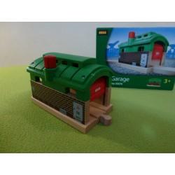 Lokomotywownia - tunel z opuszczanymi drzwiami