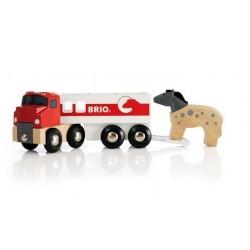 Ciężarówka do przewozu konika z konikiem