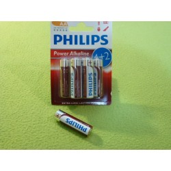 Bateria Alkaliczna AA - Paczka 6 sztuk (1,5zł za sztukę)