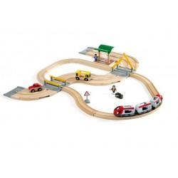 Kompletny zestaw drogowo-kolejowy