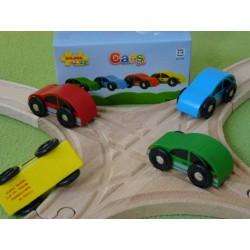 Zestaw samochodów (4szt)