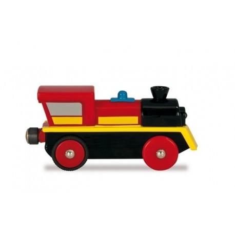 Doskonała lokomotywa elektryczna - czerwona lub żółta