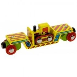 Wagon do przewożenia Buldożera
