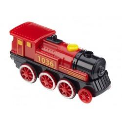 Znakowana lokomotywa elektryczna 1036 - bardzo silna