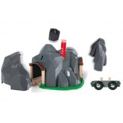Eksplodująca góra - tunel