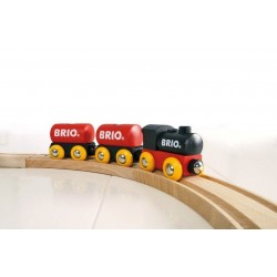 Klasyczny pociąg towarowy