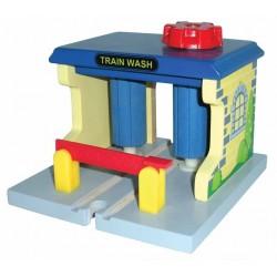 Myjnia kolejowa obrotowa