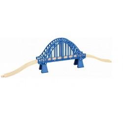 Niebieski most kratownicowy 30cm - kompletny!