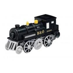 Czarna lokomotywa mocna