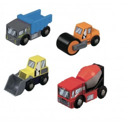 Budowlane pojazdy - zestaw(4)