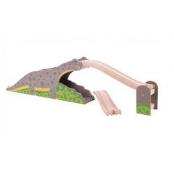 Magiczny brontosaur - kolejka górska