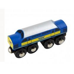 Niebieski długi diesel