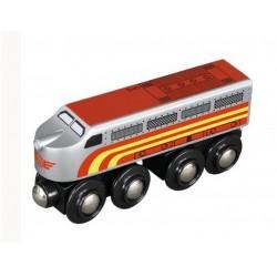 Srebrna lokomotywa ekspresowa