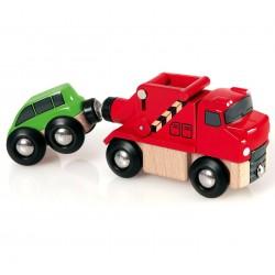 Wóz ratunkowy - holowniczy z autkiem