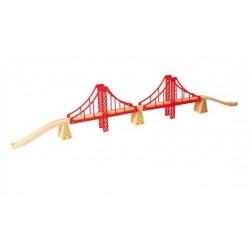 Golden Gate. Wiszący most czerwony