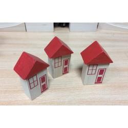 Mała wioska - zestaw 3 domków