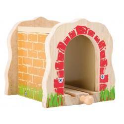 Tunel ozdobny Small foot z torem pojedynczym