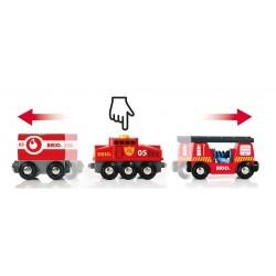 Pociąg pożarowy z lokomotywą automatyczną