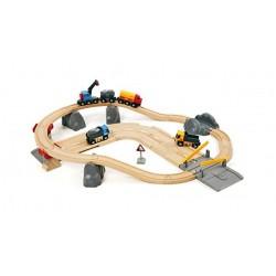Kompletny zestaw budowlano-kolejowy