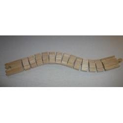 Magiczny długi łącznik - Tor drewniany