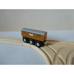 Wagon towarowy - drewniany