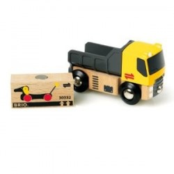 Ciężarówka z ładunkiem do dźwigów magnetycznych