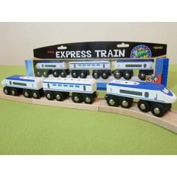 Expres pasażerski - PENDOLINO niebieski